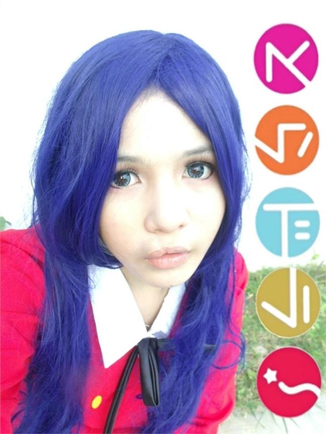 Seven(Pomponmy) Ami Kawashima Cosplay Photo