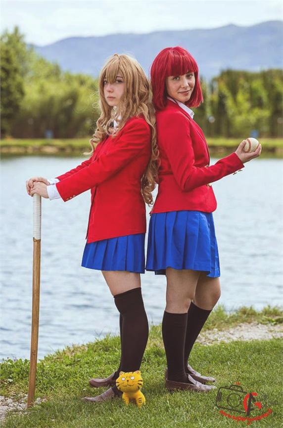 Taiga And Minori - Cabiriah(Taiga) Taiga Aisaka Cosplay Photo