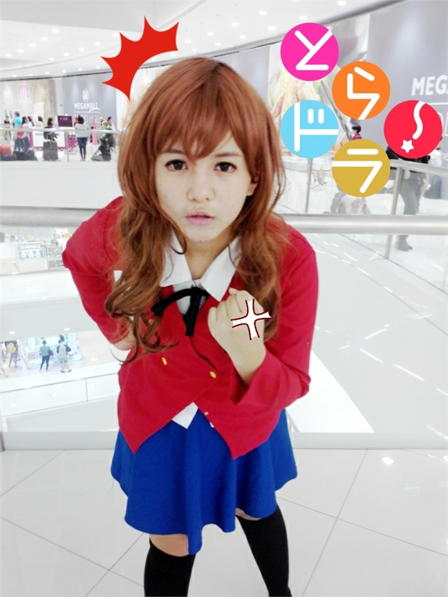 Seven(Pomponmy) Taiga Aisaka Cosplay Photo