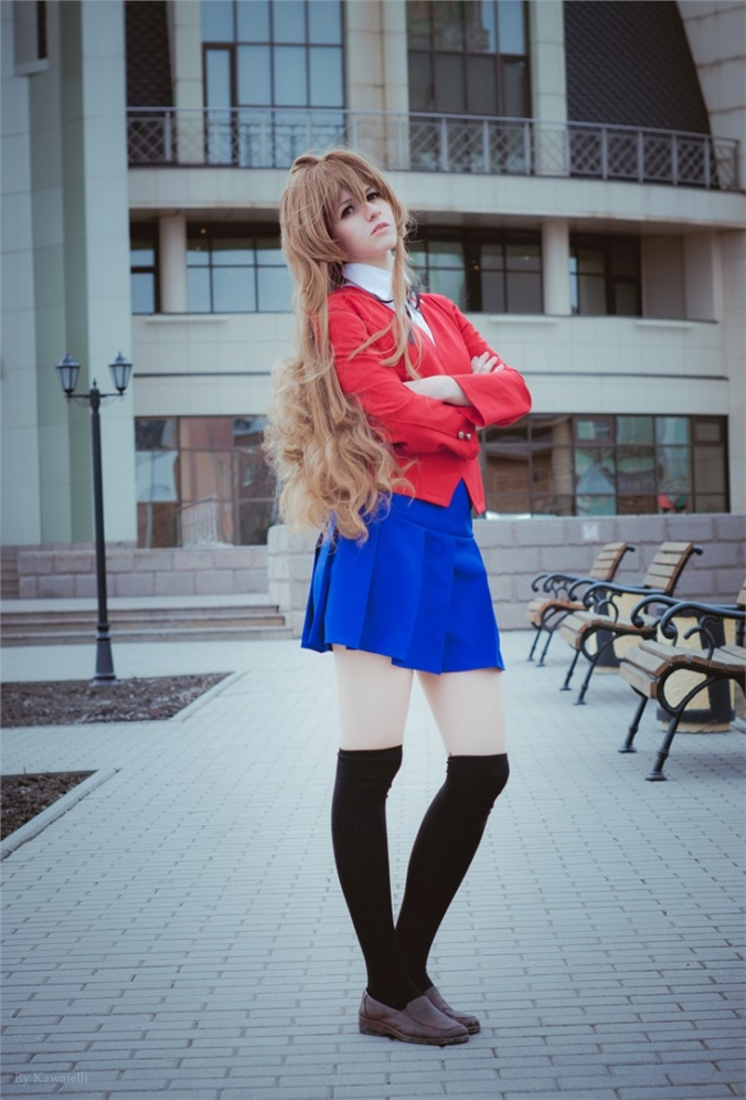 Kawaielli(Элли) Taiga Aisaka Cosplay Photo