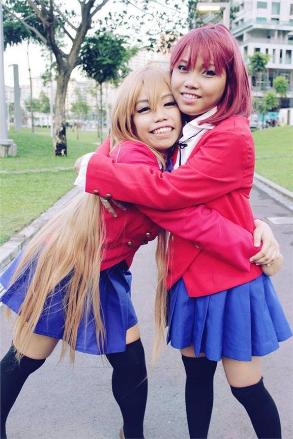 Taiga and Minori - Kimberly Sadinas(Kimmykimkim) Taiga Aisaka Cosplay Photo