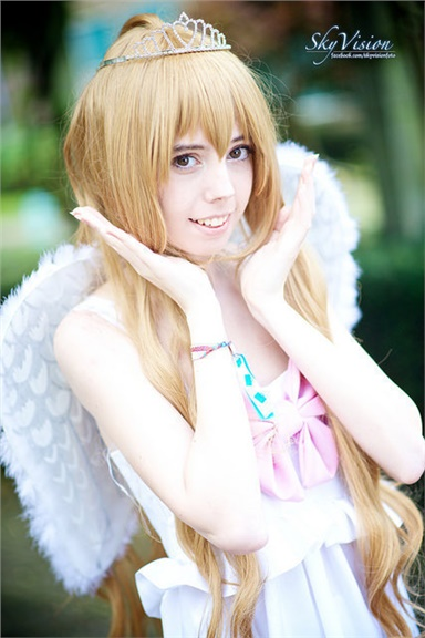 Miss angel Taiga - Tenshisamah(Tsunderetenshi) Taiga Aisaka Cosplay Photo