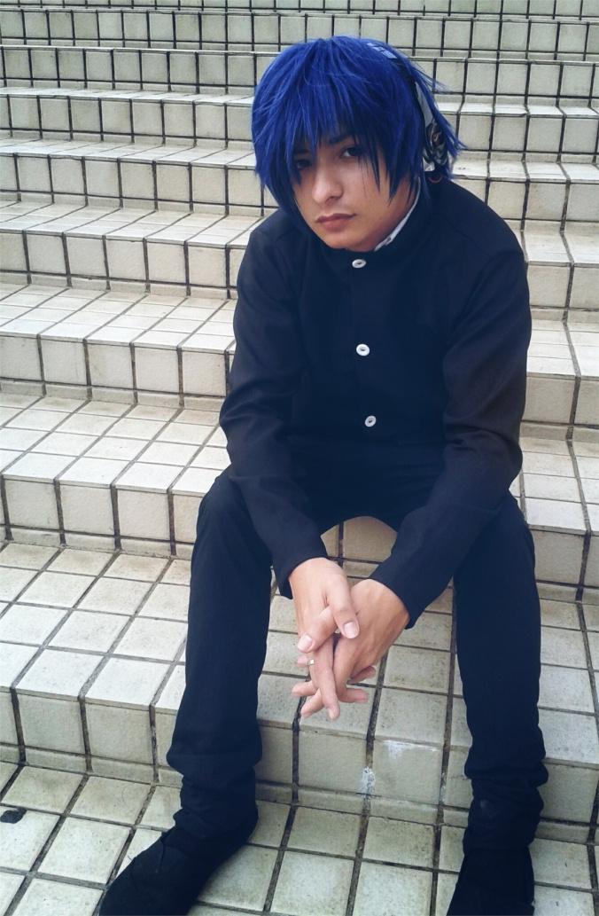 Kyo Ayagami(kyo) Ryuji Takasu Cosplay Photo