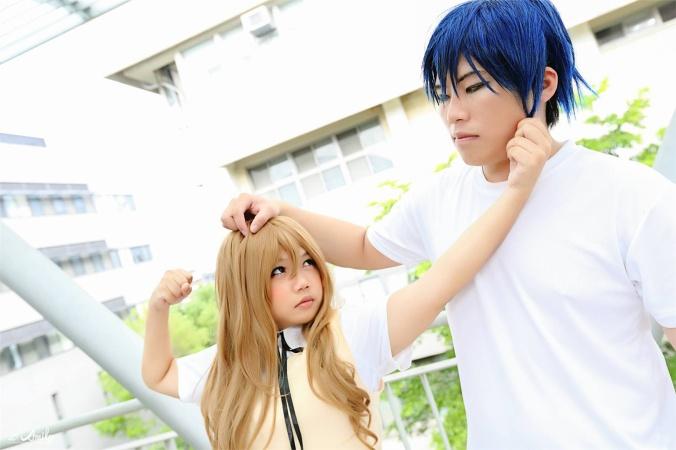 龍與虎 - shih yan chin(索拉) Ryuji Takasu, Yuki(雪風) Taiga Aisaka Cosplay Photo