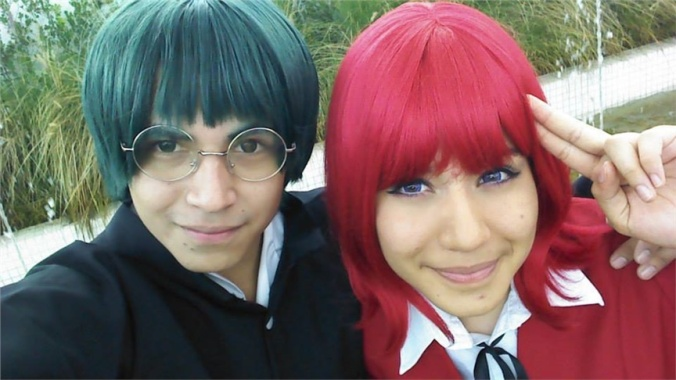 Kikuro Sayuri(Kimberly) Minori Kushieda,  Yousaku Kitamura Cosplay Photo