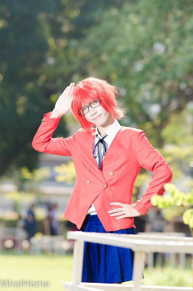 Iyama kun Minori Kushieda Cosplay Photo
