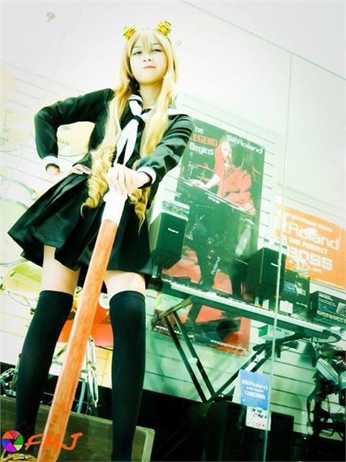 taiga aisaka - Andrea Hernandez(Anding v^_^) Taiga Aisaka Cosplay Photo