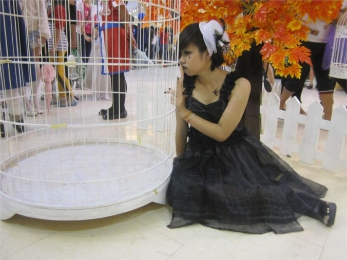 Usui Ogami(UsuiOgami) Gothic Cosplay Photo