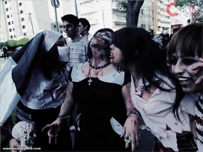 Neqa dei(Neqa Dei Carla) Zombie Cosplay Photo