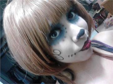 Wonkii cosplay(Fabii) Skeleton Cosplay Photo