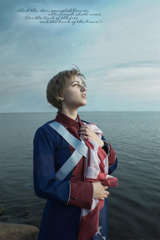 The Land of Brave - Nafasea America Cosplay Photo