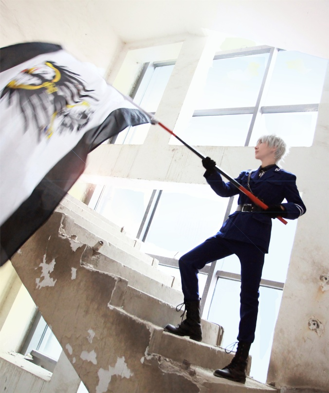 PRUSSIA - Lang(狼) Prussia Cosplay Photo