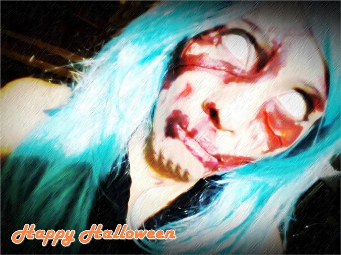 Tsu Hydeist(Sofia Ayerdis) Halloween Costume Cosplay Photo