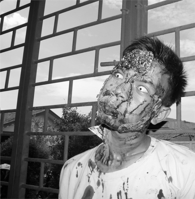 Kil(Kristanto Nur Darlan) Zombie Cosplay Photo