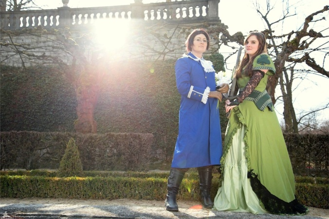 Austria and Hungary - Yuegami(Yue) Austria Cosplay Photo