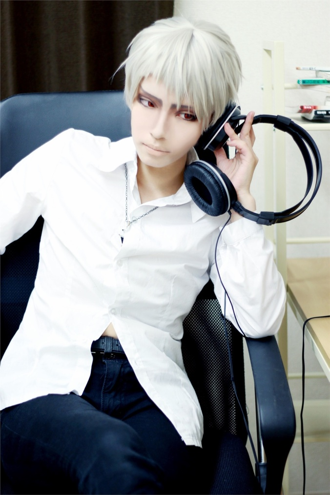 Osaka Naoki(逢坂 尚輝) Prussia Cosplay Photo
