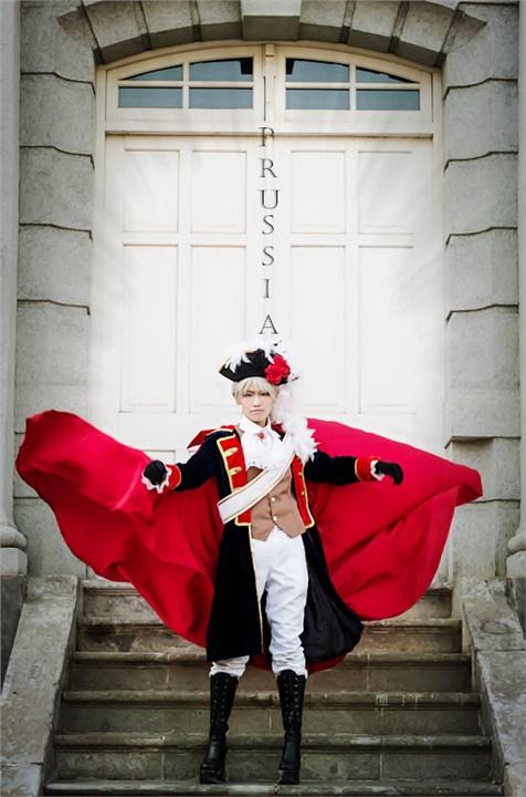 不敗帝國 - kid13784(黑鷲) Prussia Cosplay Photo