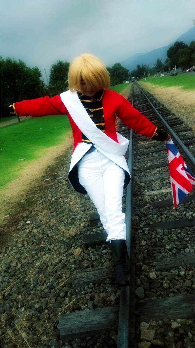 Uk  - Camila EKL(Mattie /Eiji) England Cosplay Photo