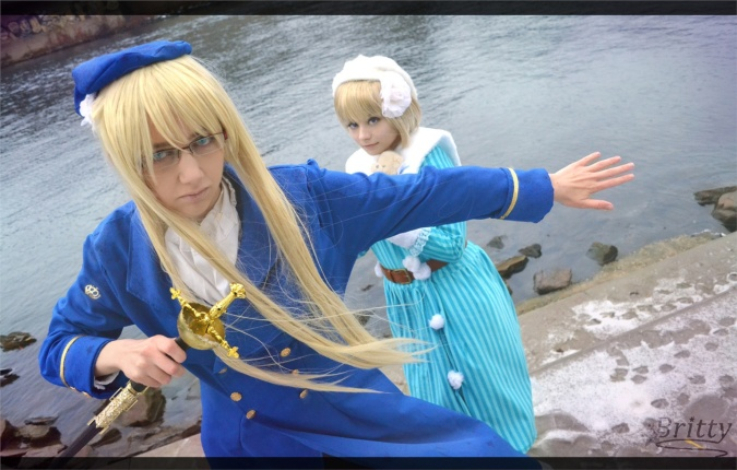 Fem!Sweden & Fem!Finland - Chocora(Chocora) Finland, Britty(Britty) Sweden Cosplay Photo