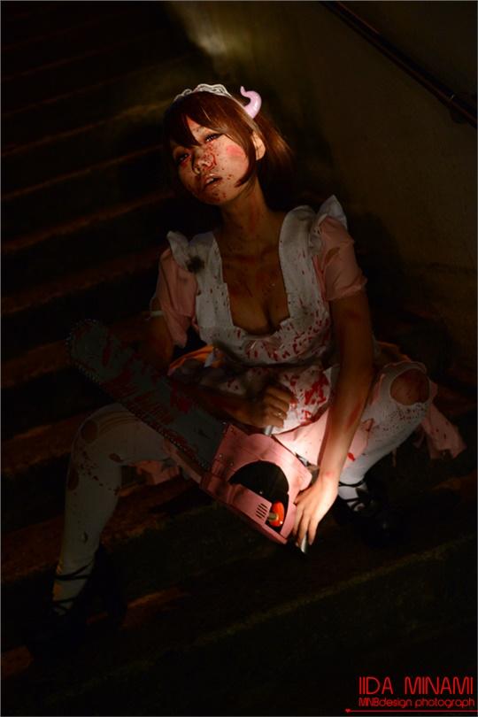 ゾンビメイド - tori mnbdesign(TORI@MNBdesign) Halloween Costume Cosplay Photo