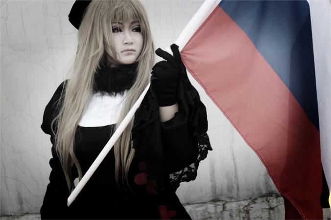 安娅·布拉金斯卡娅 - Ivan(碎裂的镜子) Russia Cosplay Photo